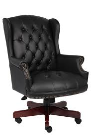 Black Office Chair Design Ideas Furniture Contemporary Black Comfortable Laminated Leather