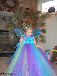 Peacock Halloween Costume Girls Homemade Peacock Costume Girls Photo 2 3