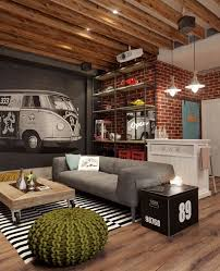 Masculine Home Decor Masculine Decor Interior Design Ideas