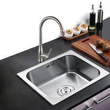 Kitchen Sinks EBay - Steel queen kitchen sinks