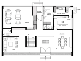 ground floor plan gallery of gp house bitar arquitectos 14