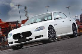 white maserati super exotic and concept cars maserati quattroporte