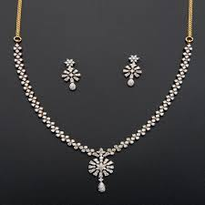 simple diamond sets pin by sky tariq on jewels diamond necklace set