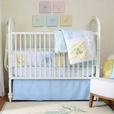 pea crib bedding set