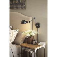 Articulating Arm Wall Sconce Bedroom Brilliant Wall Mounted Light Fixtures Swing Arm Lamps For