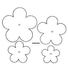 best 25 flower petal template ideas that you will like on