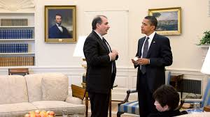 axelrod obama looking to bushes as a post presidential model