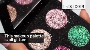 glitter makeup palette youtube