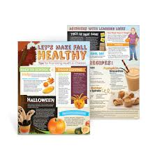 what week does thanksgiving fall on let u0027s make fall healthy newsletter handouts healthy halloween snacks