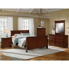 Cherry Wood Sleigh Bedroom Set Stylish Cherry Wood Nightstands Beautiful Interior Design Ideas