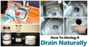 Unstop Kitchen Sink How To Unclog Kitchen Sink Bloomingcactus Me