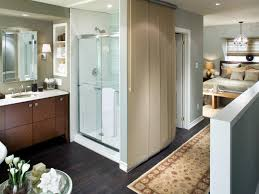Open Bedroom Bathroom Design by Granite Bathroom Sinks Hgtv