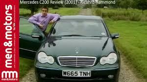 mercedes c200 review 2001 richard hammond youtube