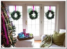 Banister Decorations For Christmas Christmas Decorating House Tour In My Own Style