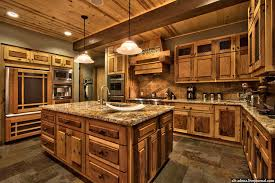 Rustic Kitchen Ideas - mountain style home decorated in rustic style mountain style