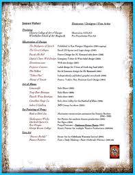 custom and unique artistic resume templates for creative work