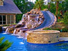 Backyard Pool With Lazy River Backyard Remodel New Smyrna Beach Contractor