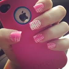 pink black u0026 white zebra acrylic nail art nail designs