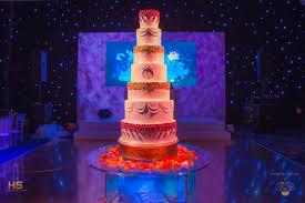 Glittering Luxury 7 Tier Wedding Cake Grosvenor House Park Lane