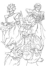 coloriages dragon ball 10 dragon ball coloring pages