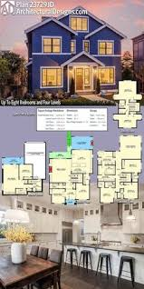 home plan design sles plan 23663jd 6 bedroom beauty with third floor game room and