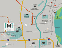 Portland State University Map by The Marq Marquette University Apartments In Milwaukee