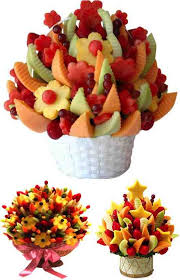 fruit flower arrangements how to make an edible fruit bouquet do it yourself ideas