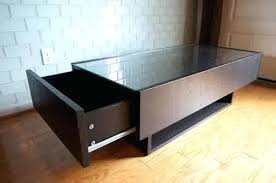 glass top coffee table with storage storage coffee table ikea dynamicpeople club