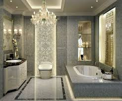 luxury modern bathrooms side toilet sitting flushing water wall