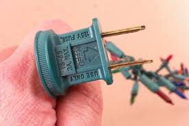 How To Fix Christmas Tree Lights How To Replace A Fuse On Christmas Tree Lights 9 Steps Christmas