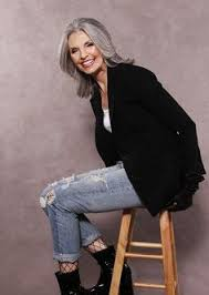 funky hairstyle for silver hair getting older can be beautiful and empowering this is going to be