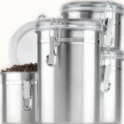 airscape kitchen canister kitchen stainless steel canisters