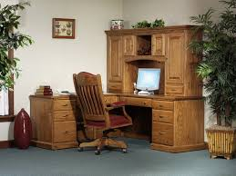 Amish Home Decor Marvelous Desk With Computer Storage Stunning Home Decor Ideas