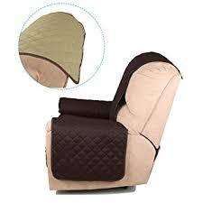 housse de canapé 1 place auralum housse de fauteuil étanche faces a deux couleur