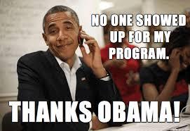 Thanks Obama Meme - student affairs problems thanks obama paulgordonbrown