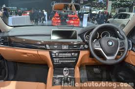 bmw x6 series price bmw x6 dashboard at the 2015 motor indian autos