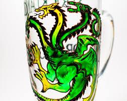 Dragon Coffee Cup Green Dragon Mug Etsy