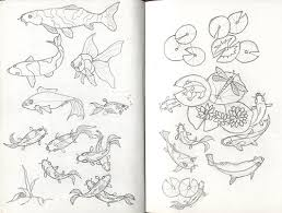 koi sketch model sheet from my sketch book for the koi pon u2026 flickr