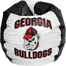 amazon com bean bag boys bean bag u of georgia bulldogs kitchen