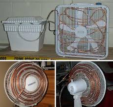 fan that uses ice to cool green technology help save our planet diy air conditioner