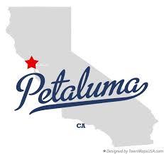 petaluma ca map map of petaluma ca california