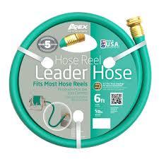 Hose Faucet Extender Amazon Com Apex 887 6 Hose Reel Leader Hose 5 8 Inch X 6 Feet
