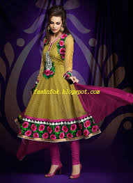 pakistani u0026 indian latest party wear anarkali frocks suits designs