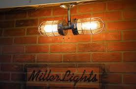 industrial double cage light modern ceiling hanging bathroom