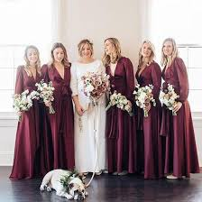 plus size burgundy bridesmaid dresses new burgundy sleeve bridesmaid dresses v neck boho a line