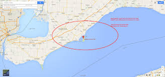 Ontario Canada Map Haarp Geomagnetic Storm Hits Southbeach Lake Erie By Rondeau