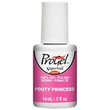 supernail progel nail polish pouty princess 14ml professional nails
