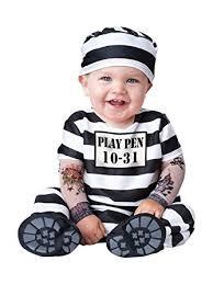 Amazon Boys Halloween Costumes Amazon Incharacter Costumes Baby U0027s Convict Costume