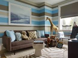 Brown And Blue Home Decor Painting Designs For Living Room Decor Modern On Cool Best At