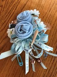 baby shower baseball theme baseball theme baby sock baby shower corsages handmade baby sock